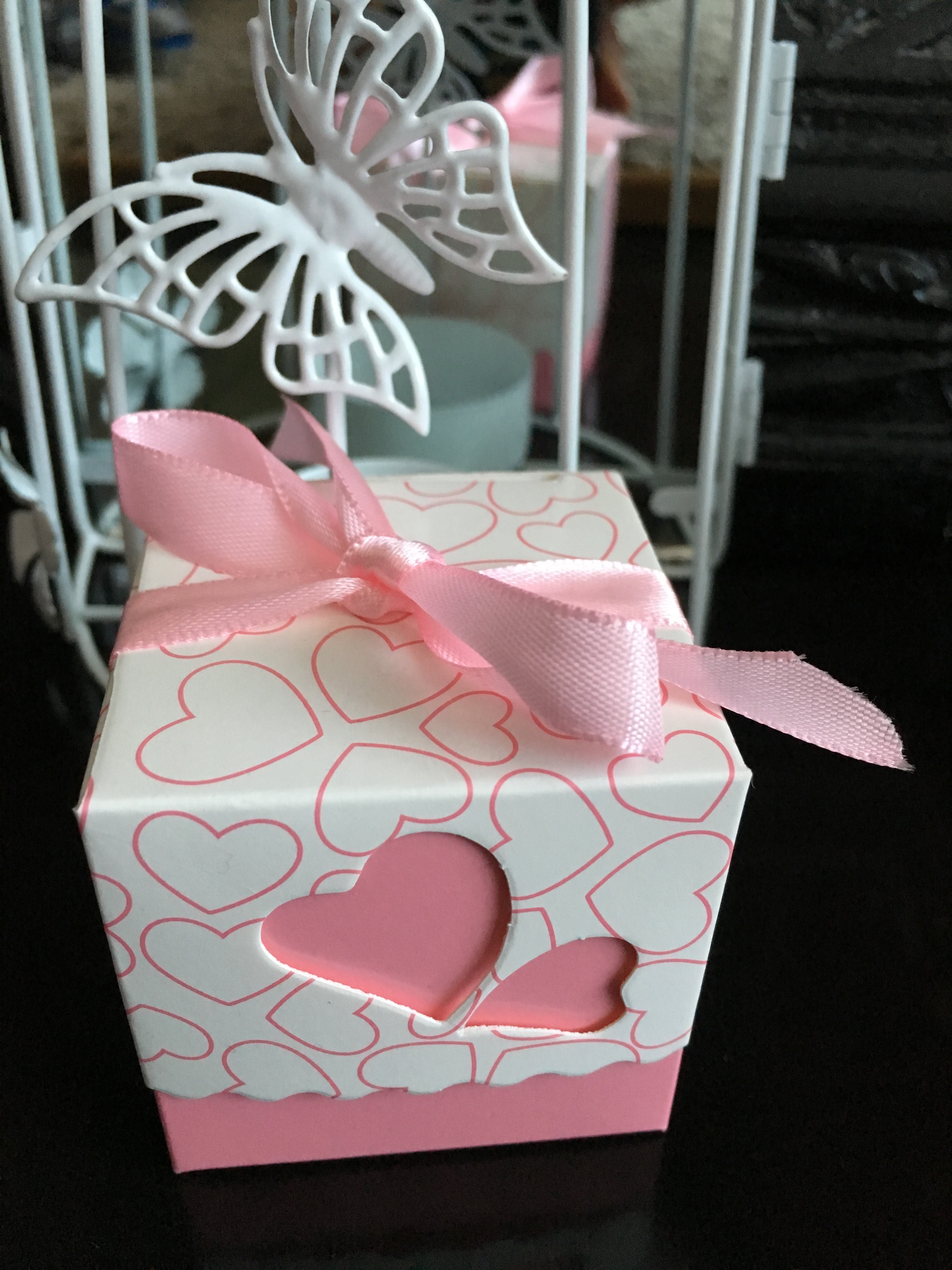 Wedding and birthday favours - Petal Stems